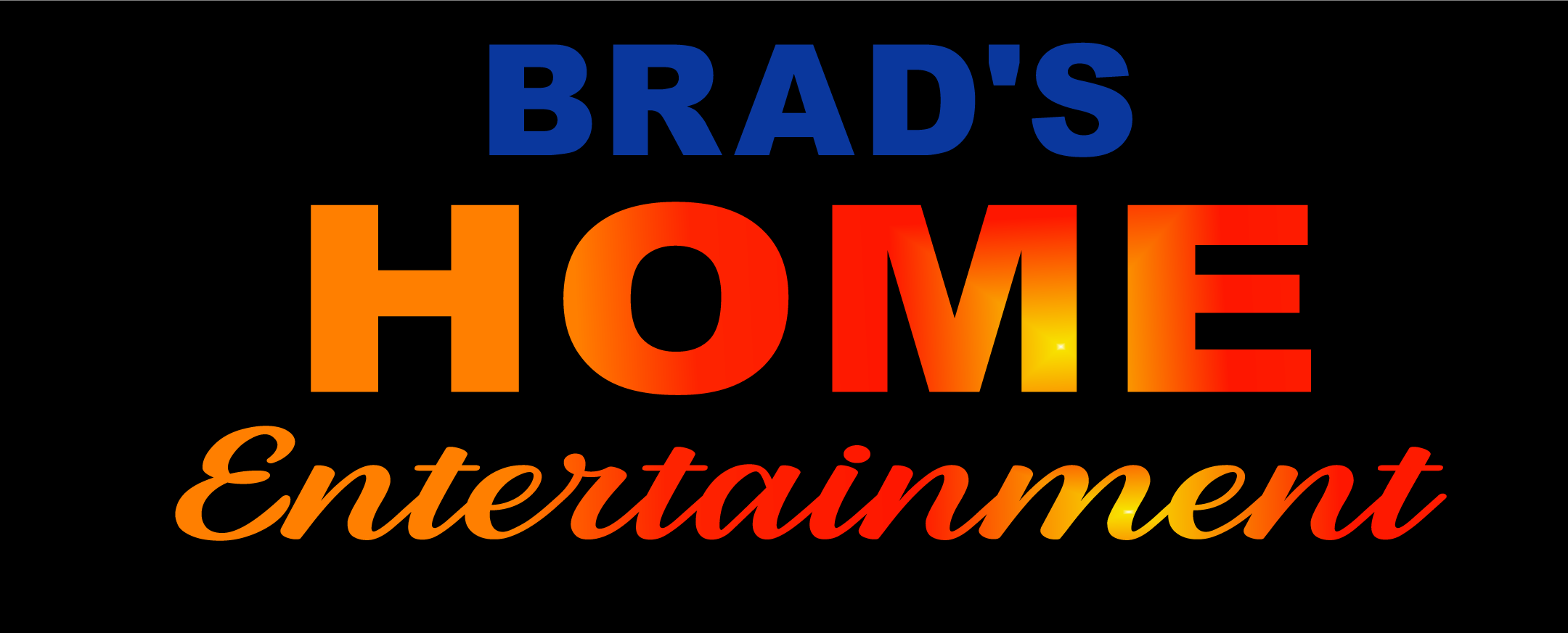 Brad's Home Entertainment Logo
